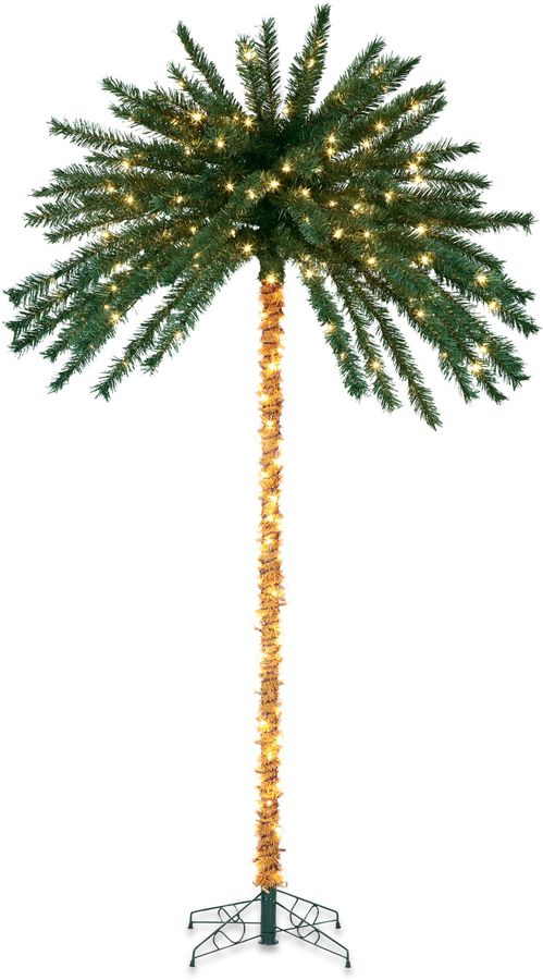Bed Bath & Beyond 7-Foot Pre-Lit Palm Tree