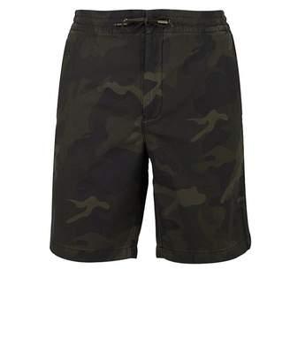 Barbour Bay Como Ripstop Shorts Colour: OLIVE, Size: MEDIUM