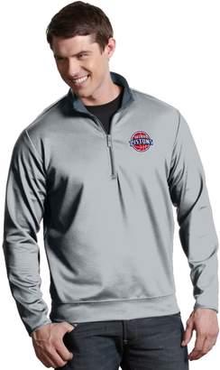 Antigua Men's Detroit Pistons Leader Pullover
