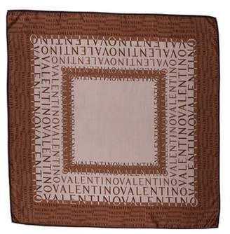 Valentino Silk Printed Scarf