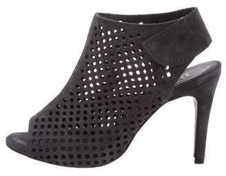 Pedro Garcia Suede Cutout Sandals