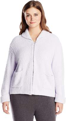 Casual Moments Women's Plus-Size Bed Jacket