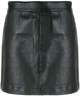 Helmut Lang stretch mini skirt
