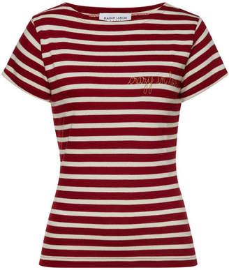 Maison Labiche Crazy in Love Striped Cotton T-Shirt