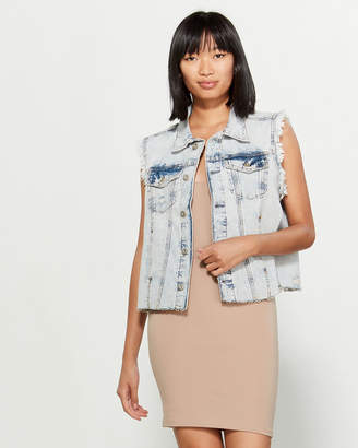Free People Zoe Denim Vest