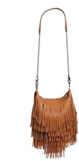 Steve Madden 'Bmocha' Fringe Crossbody Bag