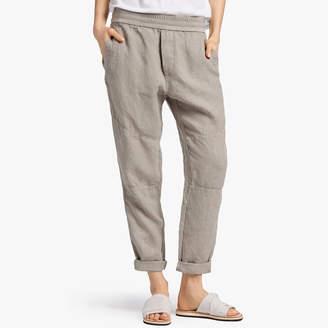 James Perse Canvas Linen Patched Pant