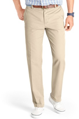 Izod Men's Slim-Fit Flat-Front Saltwater Chino Pants