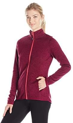 Head Women's Cosy Sweater Knit Zip Front Jacket
