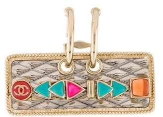Chanel Resin Single Clip-On Earring