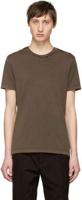 Bottega Veneta Grey Cotton T-Shirt