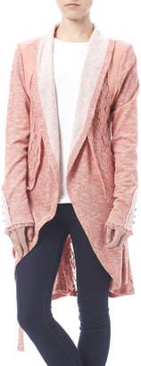 Nick & Mo Grey Lace Cardi