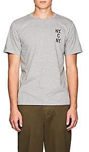 "Saturdays NYC Men's ""NYC NY"" Cotton Jersey T-Shirt - Light Gray"