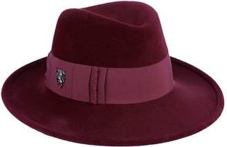 Philip Treacy Velour Wide Brim Hat