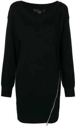 Alexander Wang side-slit sweater dress
