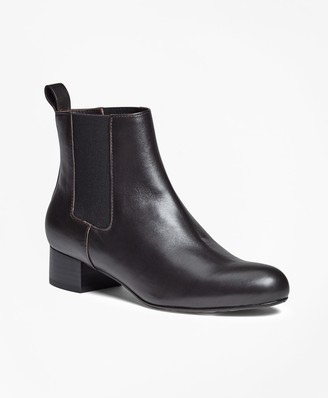 Brooks Brothers Leather Chelsea Boots