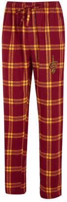 Concepts Sport Men Cleveland Cavaliers Homestretch Flannel Sleep Pants