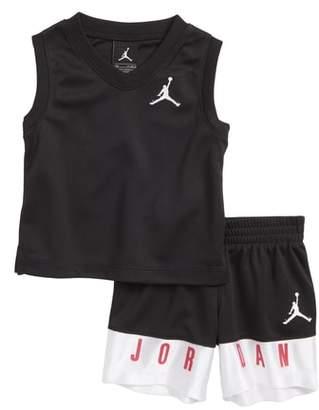 Jordan AJ23 Jersey Tank Top & Mesh Shorts Set