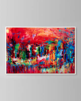 "John-Richard Collection Venice in Reds"" Canvas Art by Stephanie Saunders"