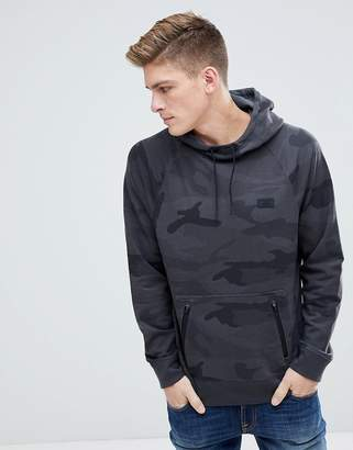 Abercrombie & Fitch Black Label Sport Hoodie in Black Camo