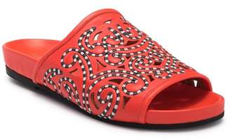 Derek Lam Oni Filigree Cutout Slide Sandal