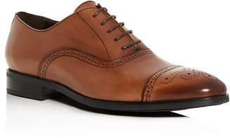 To Boot Men's Mezzo Leather Cap-Toe Brogue Oxfords