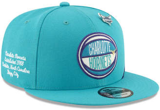 New Era Charlotte Hornets On-Court Collection 9FIFTY Cap