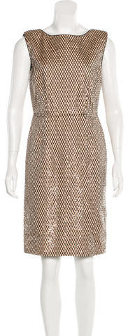 Marc Jacobs Marc Jacobs Silk Embellished Dress w/ Tags