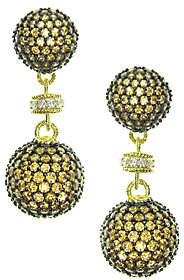 Judith Ripka 14K Yellow Gold-Clad Diamonique Dr