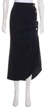 Marni Asymmetrical Midi Skirt w/ Tags