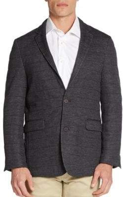 Vince Camuto Seamed Wool-Blend Sportcoat