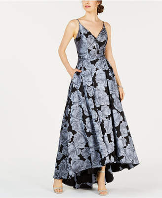 Xscape Evenings Floral-Print Gown
