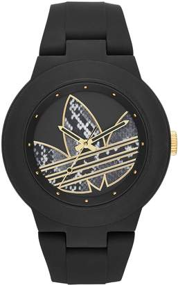 adidas Women's ADH3047 Aberdeen Analog Display Analog Quartz Black Watch