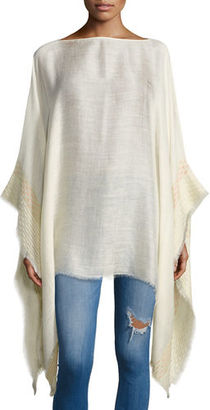 Rag & Bone Textured Stripe Poncho $295 thestylecure.com