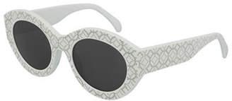 Alaia Round Studded Acetate Sunglasses