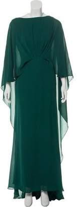 Elie Saab Silk Evening Dress