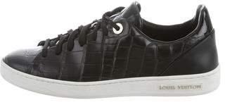 Louis Vuitton Embossed Low-Top Sneakers