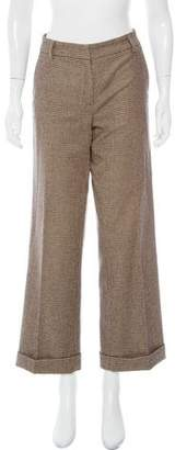 Gunex Mid-Rise Patterned Pants