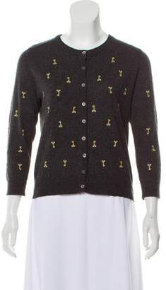 Dolce & Gabbana Long Sleeve Embroidered Cardigan