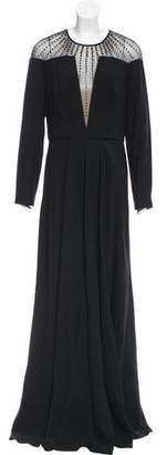 Temperley London Long Sleeve Evening Dress