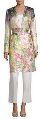 Natori Bop Printed Jacquard Topper Jacket