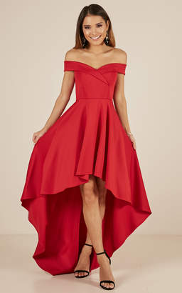 Showpo Minute To Midnight dress in red - 16 (XXL) Dresses