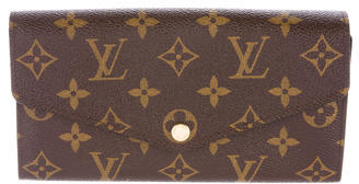 Louis VuittonLouis Vuitton Monogram Sarah Wallet NM