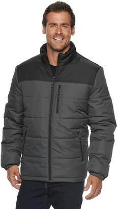 ZeroXposur Men's Flex Quilted Puffer Jacket