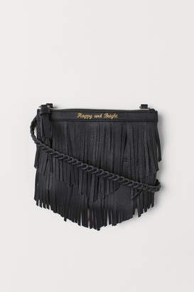 H&M Shoulder bag with fringing