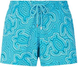 Vilebrequin Turtle Patterned Swim Shorts