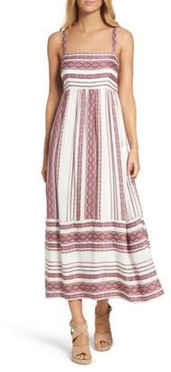 Women's Maggy London Stripe Sundress $148 thestylecure.com