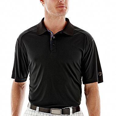 JCPenney St. Andrews of Scotland Golf Interlock Polo Shirt