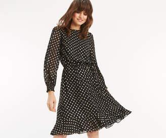 a715e5b2322b31 at Oasis · Oasis SPOT CHIFFON BLOUSE DRESS