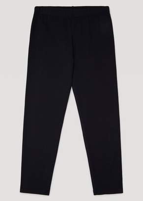 Armani Junior Stretch Cotton Leggings